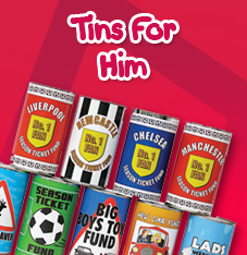 Tins for Him