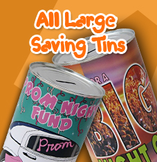 All Large Saving Tins