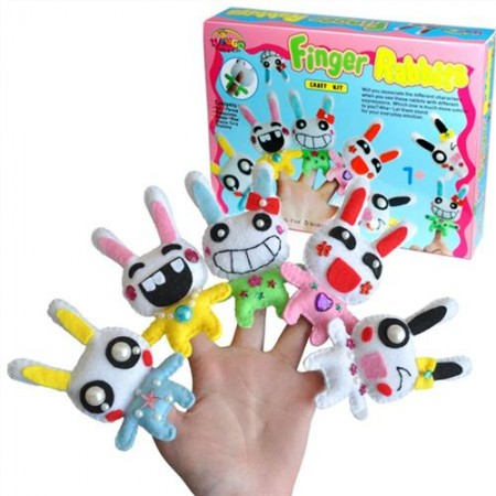 Make Your Own Finger Rabbits Kit