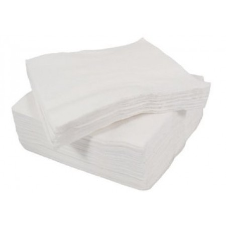 Basic 1PLY White Paper Napkins (100)