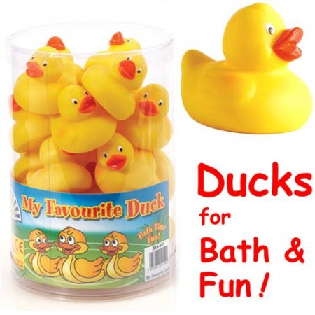 Yellow Rubber Duck - 5cm