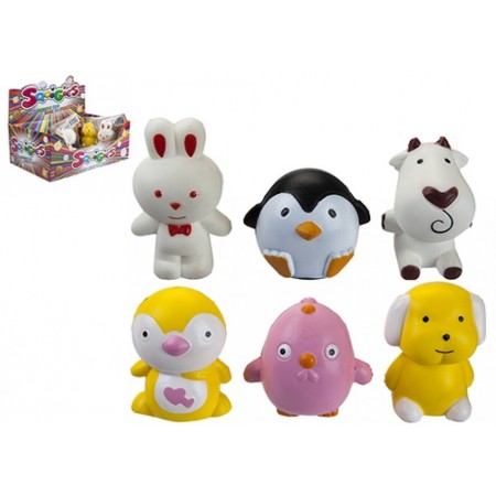 Wholesale Slow Rise Squishies animals assorted