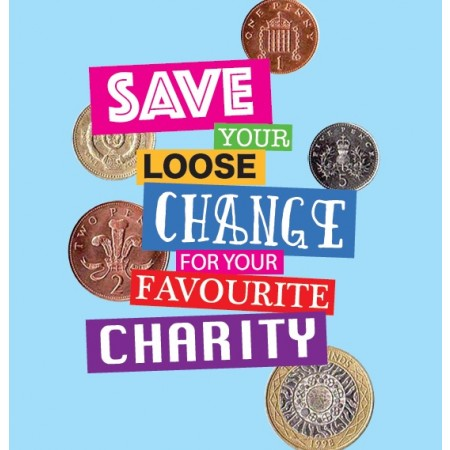 Favourite Charity Savings Tin - Small