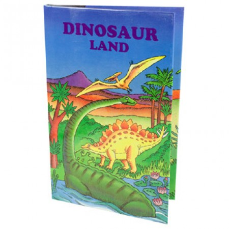 Personalised Dinosaur Land Book