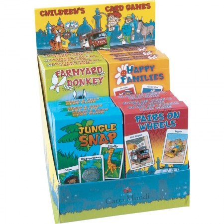 Childrens Card Games - Pairs on Wheels