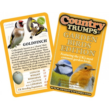 Country Trumps - Garden Birds