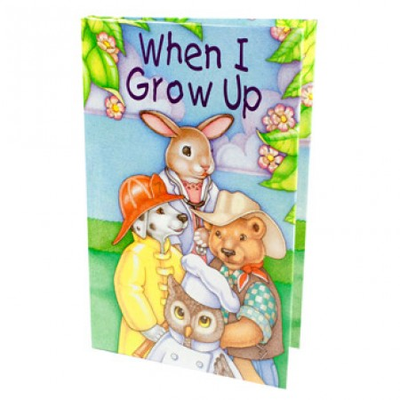 Personalised When I Grow Up Book