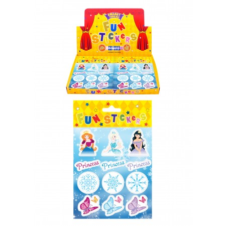 12 Ice Princess Stickers