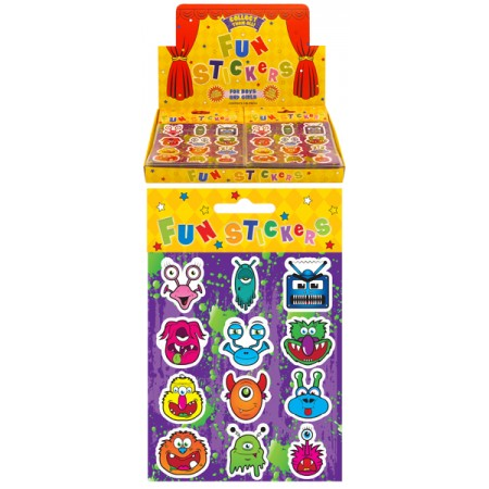 12 Monster Stickers