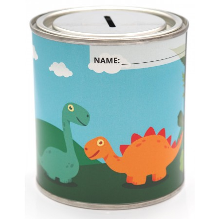 Dinosaur Money Tin - 500ml