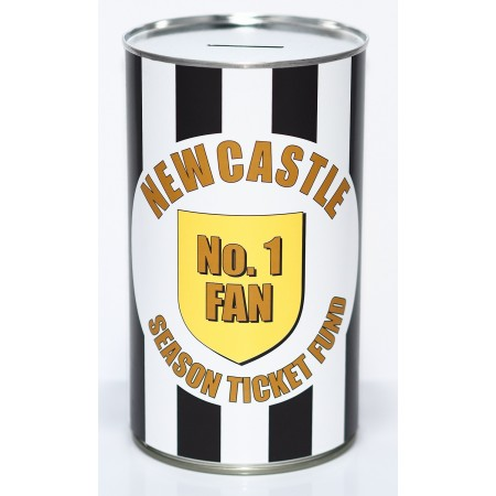 Newcastle Football Savings Tin Fund - (LRG)