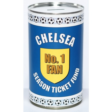 Chelsea Football Savings Tin Fund - (LRG)