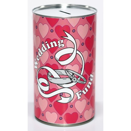 Wedding Fund Savings Tin - (LRG)