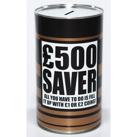 £500 Saver Savings Tin - (LRG)