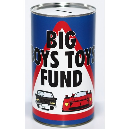 Big Boys Toys Savings Tin - (LRG)