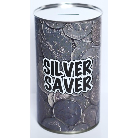 Silver Saver Savings Tin - (LRG)