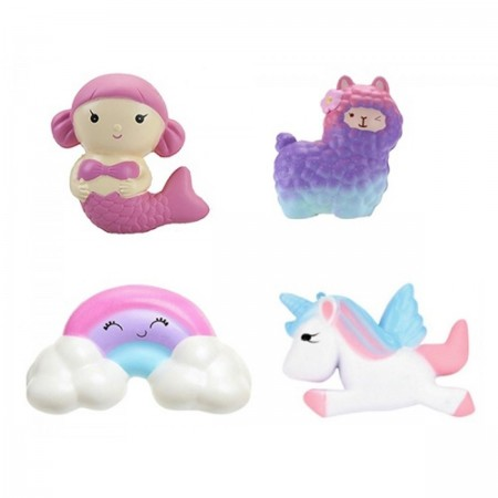Wholesale Slow Rise Squishies unicorn assorted