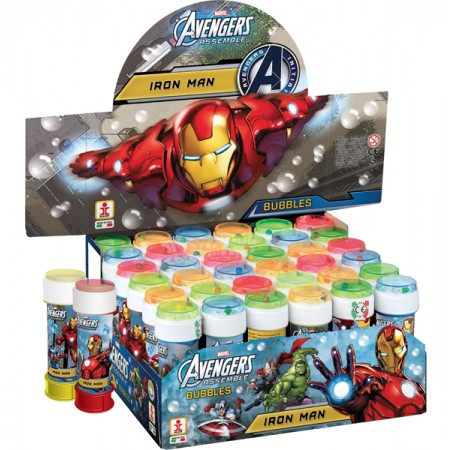 Iron Man Avengers 60ml Bubble Tubs