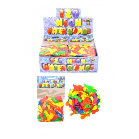 Neon Water Bombs 120