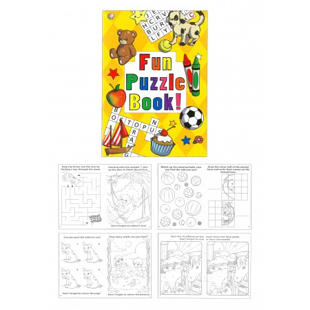 Basic Fun Puzzle Mini Book
