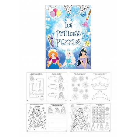 Ice Princess Fun Puzzle Mini Book