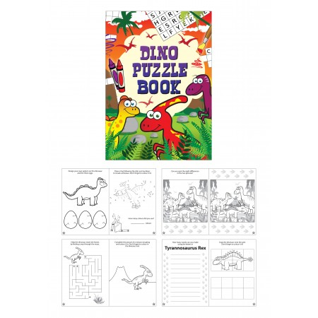 Dinosaur Fun Puzzle Mini Book
