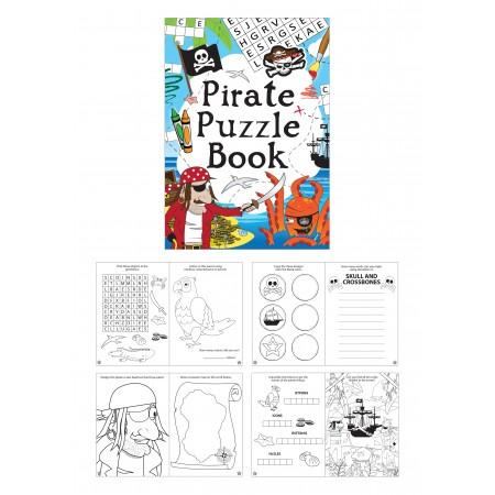Pirate Fun Puzzle Mini Book