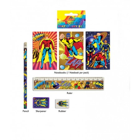 Super Hero Stationery Set