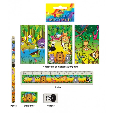 Jungle Stationery Set