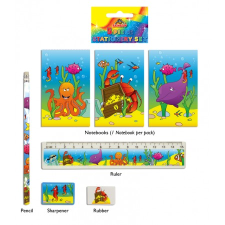Sealife Stationery Set