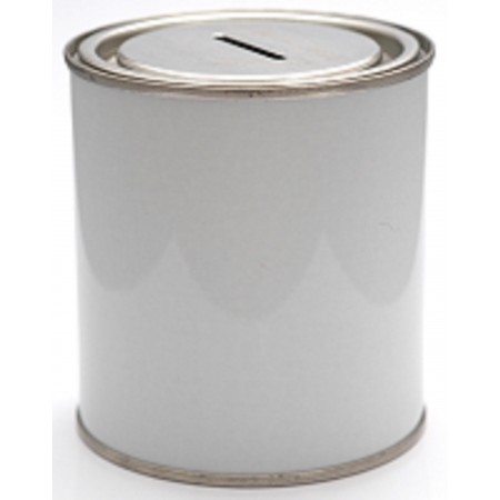 Empty Tin with Money Slot - 500ml
