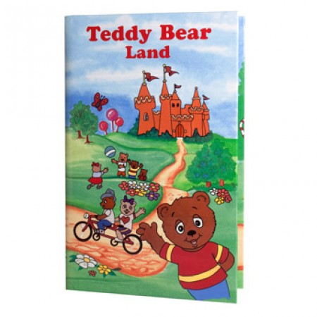 Personalised Teddy Bear Land Book