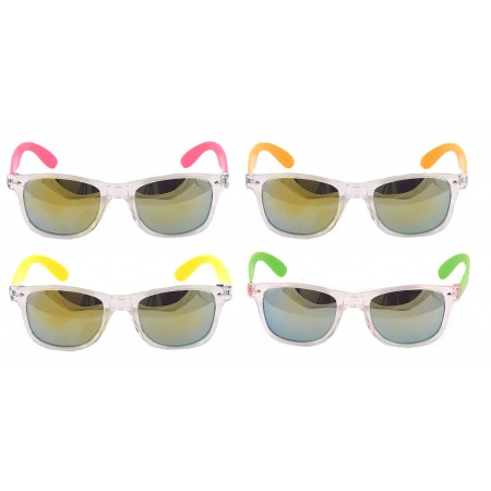 Neon Mirrored Sunglasses