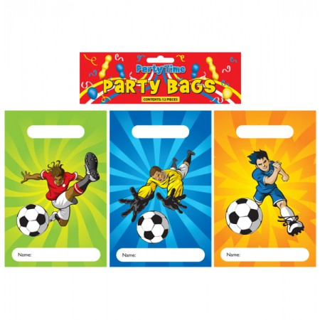 12 Football Party Bags