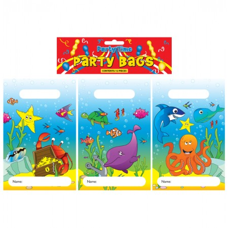 12 Sea life Party Bags