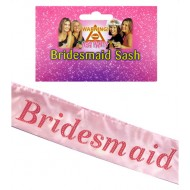Sash Bridesmaid