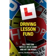 Driving Lesson Fund Savings Tin - (LRG)