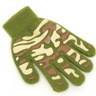 Boys Magic Gloves - Camouflage Print