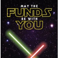 May the Funds be with You Savings Tin - (SM)