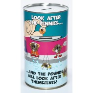 Pennies and Pounds Savings Tin - (LRG)