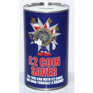 £2 Saver Fund Savings Tin - (LRG)