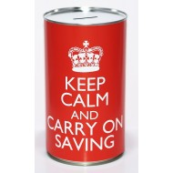 Blank Savings Tin - (LRG) - 2 PK