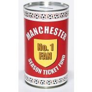 Manchester Football Savings Tin Fund - (LRG)