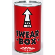 Swear Box Savings Tin - (LRG)