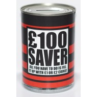 £100 Saver Tin - Small