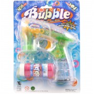 Bubble Gun w/lights B/O