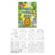 Jungle Fun Puzzle Mini Book