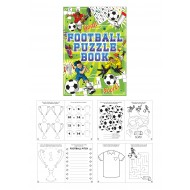 Football Fun Puzzle Mini Book