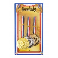 Olympic Games Medals Pack of 3