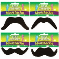 BEST DRESSED - Stick on Moustache